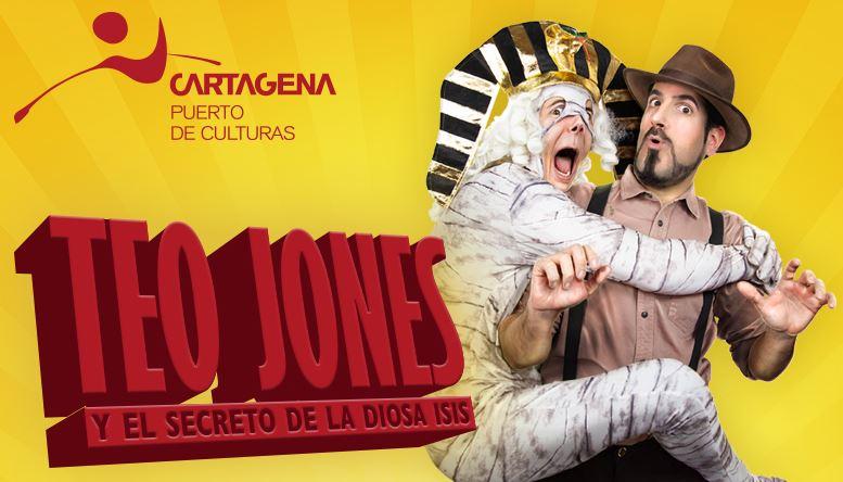 Visita teatralizada: 'Teo Jones y el secreto de la diosa Isis'