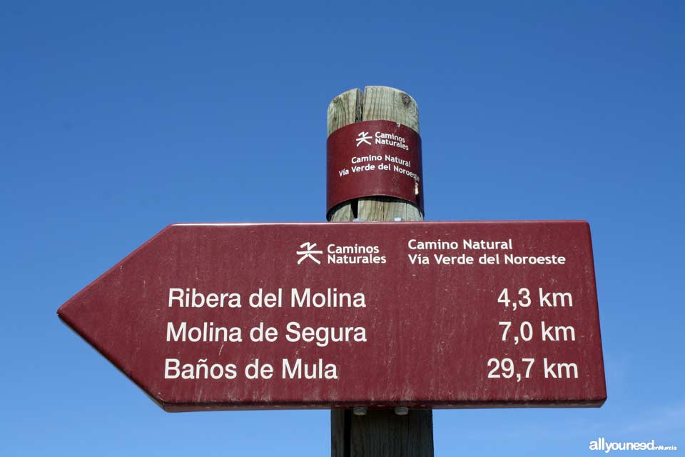 Green Route of the Northwest. Murcia