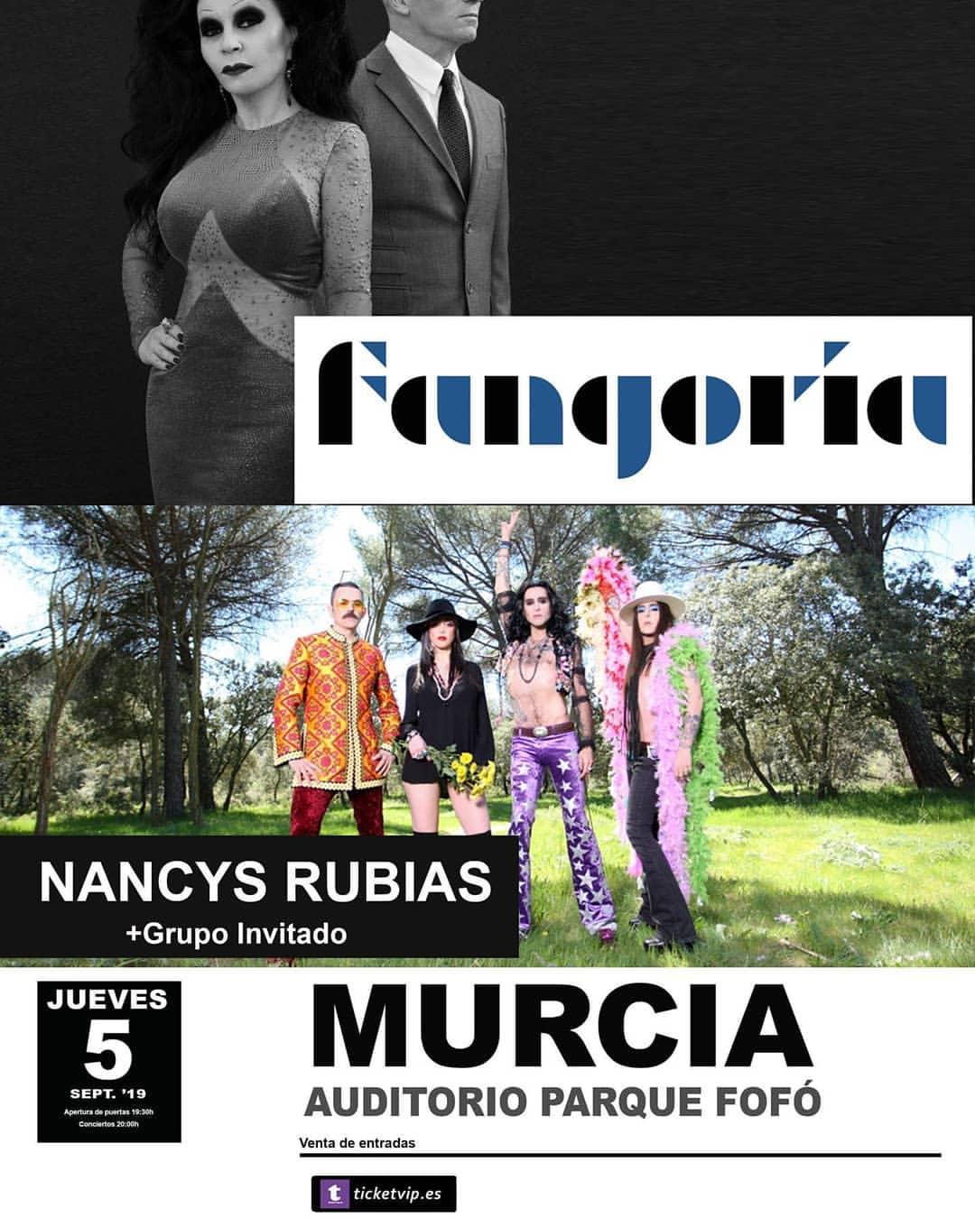 Fangoria + Nancys Rubias