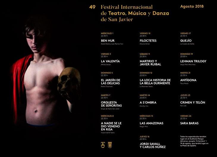 Festival de teatro, música y danza San Javier
