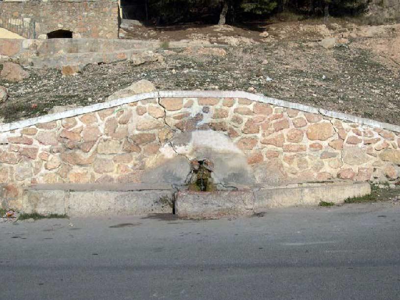 Fuente del Algarrobo. Abanilla