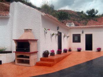 Casa Cueva Río Chícamo en Abanilla. Alojamiento rural.