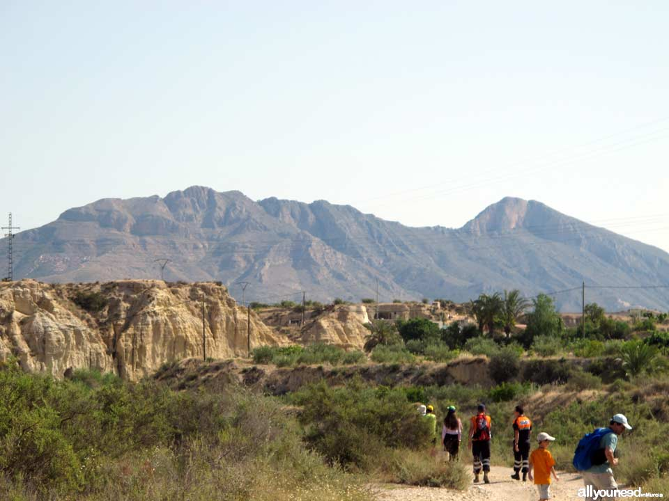 Network of Hiking Trails in the Murcia Region