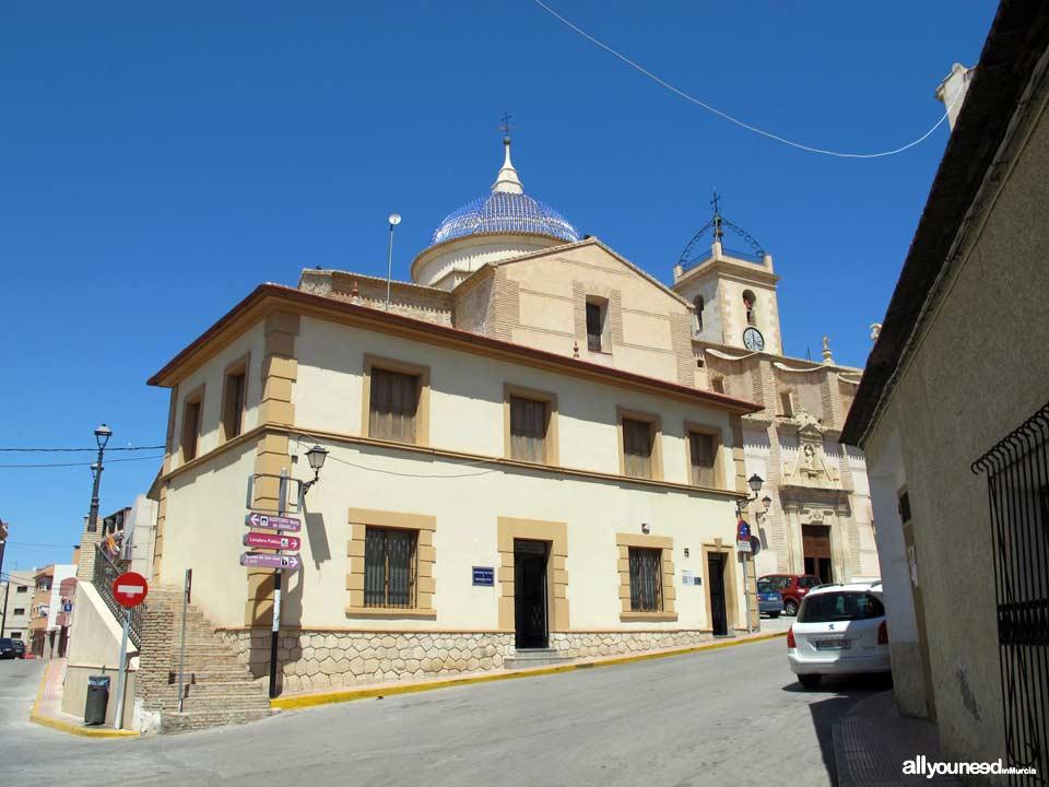 Calles y plazas en Abanilla