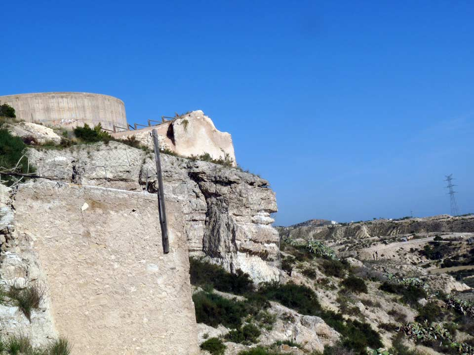 Guide of Castles in Murcia. Abanilla Castle. Spain