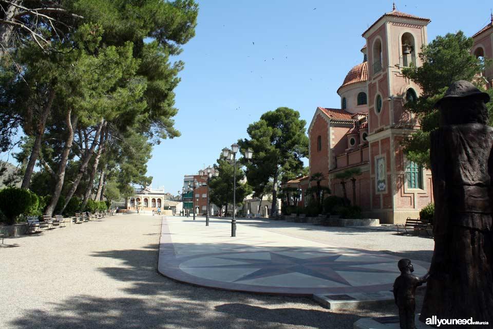 Calles y plazas en Abarán
