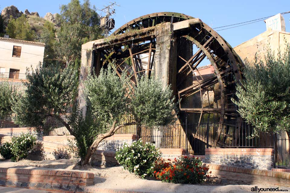 Tourism in Murcia, a hang-up free region. Grande Waterwheel