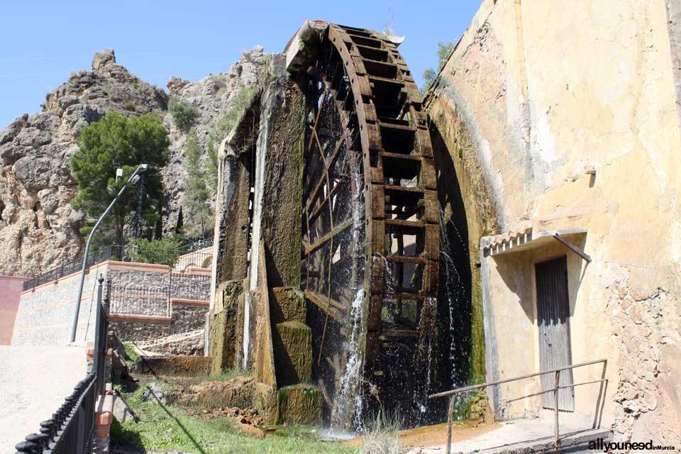 Waterwheel Route in Abarán, Murcia. Grande Waterwheel