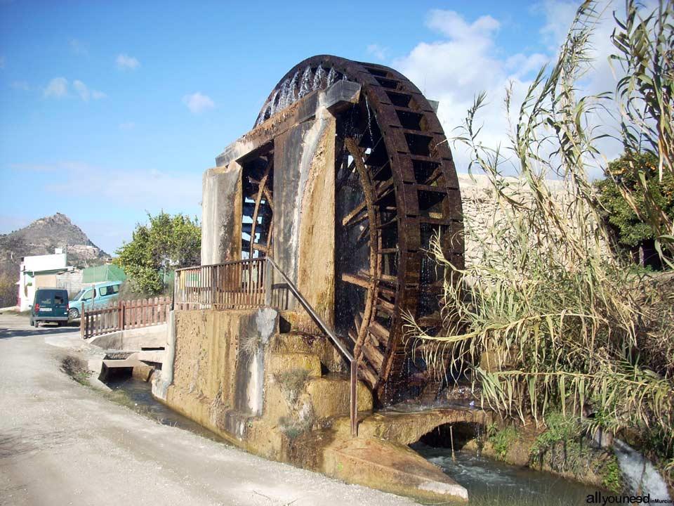 Waterwheel Route in Abarán, Murcia. Hoya D. García Waterwheel