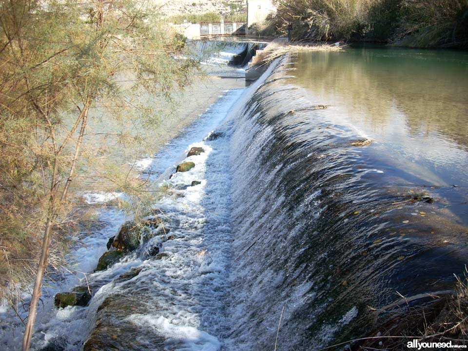 Waterwheel Route in Abarán, Murcia. Jarral Dam Park