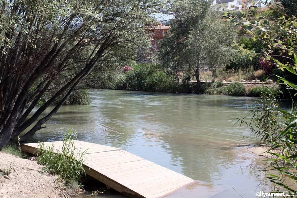 Waterwheel Route in Abarán, Murcia. Municipal Park