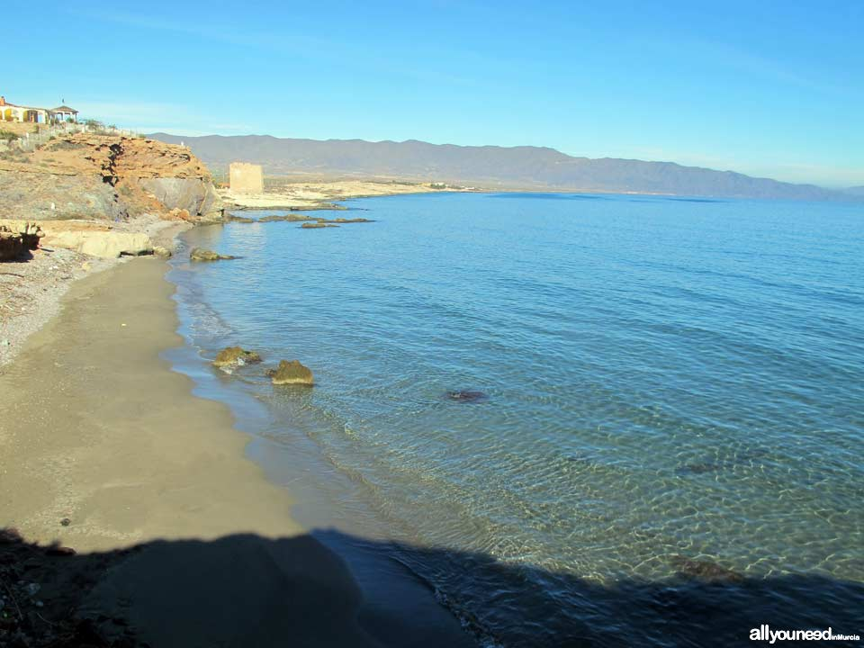 Fuente Cove in Águilas. Beaches of Murcia Spain