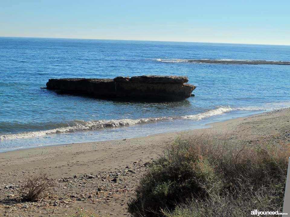 Galera Beach in Águilas Beaches of Murcia