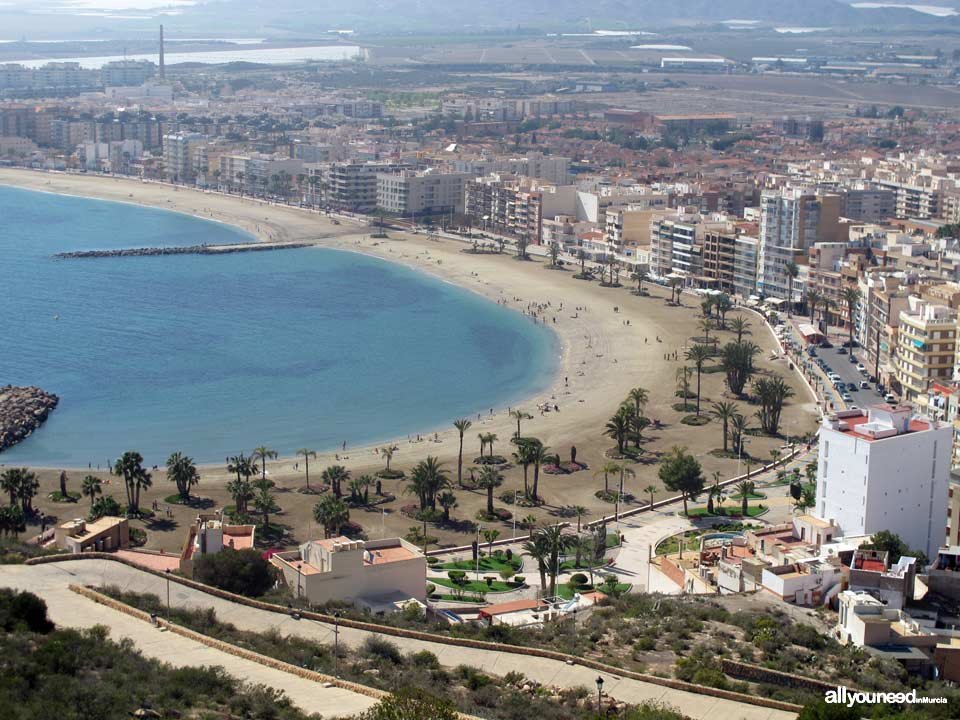 Tourism in Murcia, a hang-up free region. Aguilas Beaches