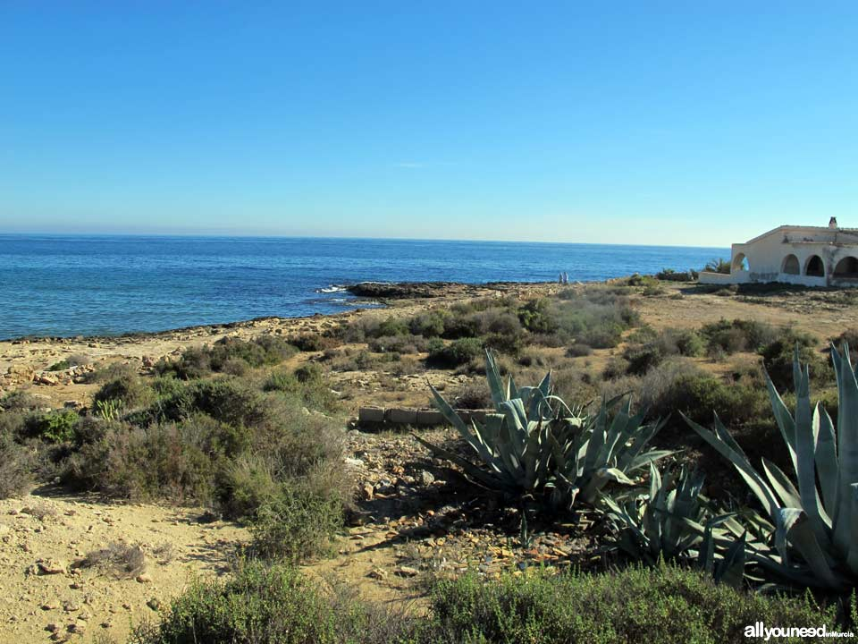 Sombrerico in Águilas. Beaches of Murcia