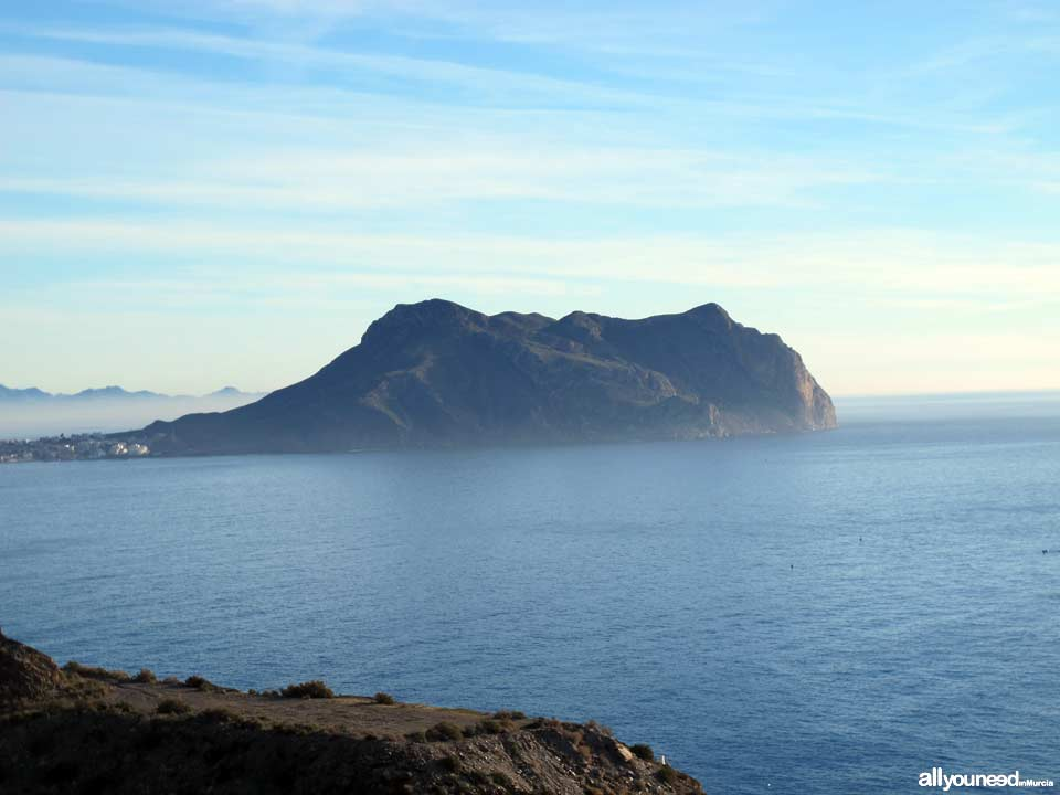 Panoramic Views of Águilas. Cope Cape