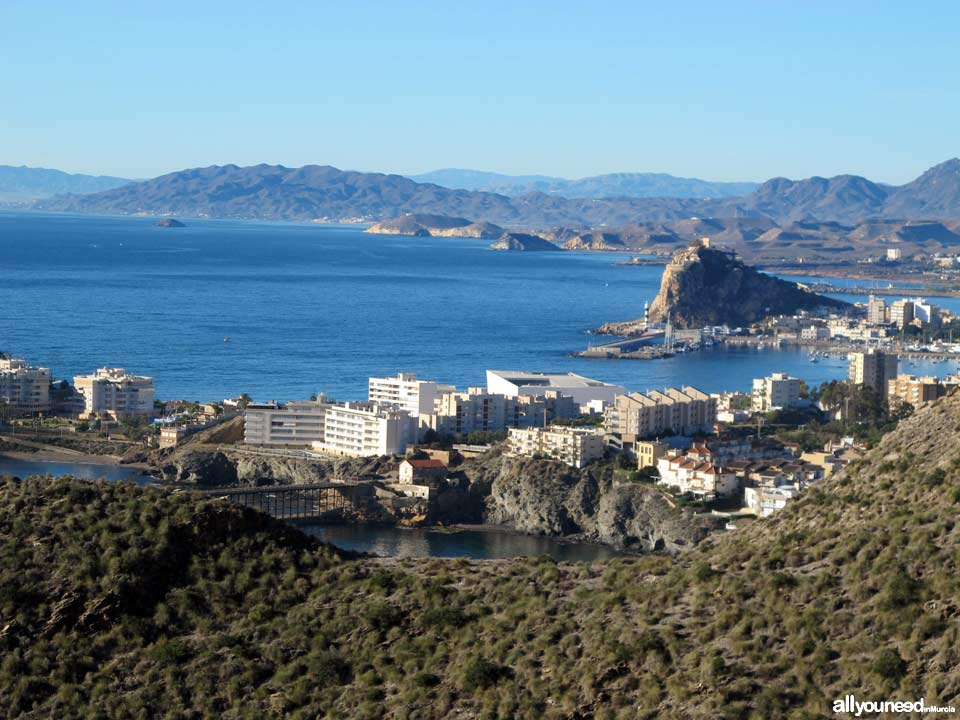 Panoramic Views of Águilas. Bay of Águilas