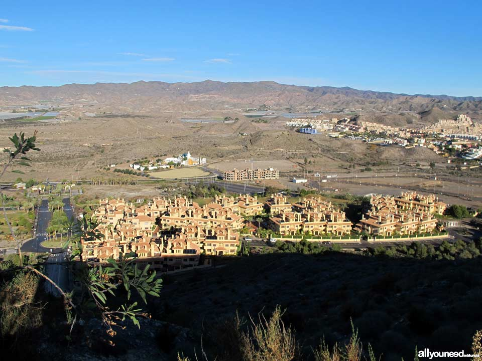 Panoramic Views of Águilas. Fraile Development