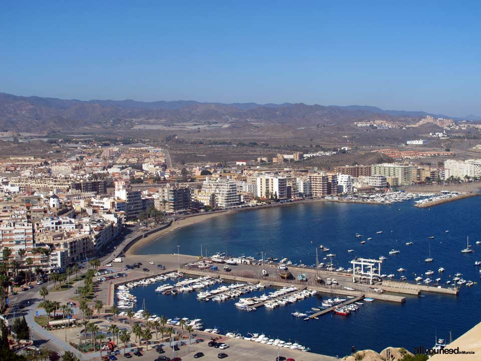 Panoramic Views of Águilas. Levante Port and Beach (E)