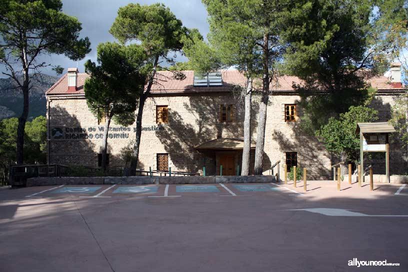 Parque Regional de Sierra Espuña. Centro de Visitantes Ricardo Codorníu