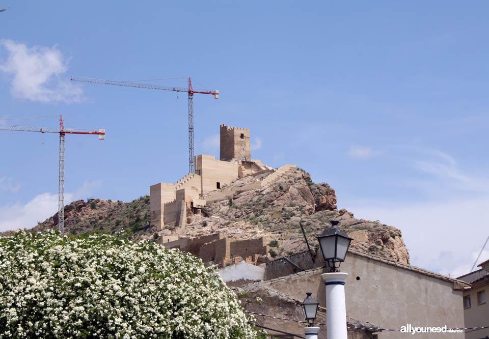 Guide of Castles in Murcia. Alhama de Murcia Castle. Spain