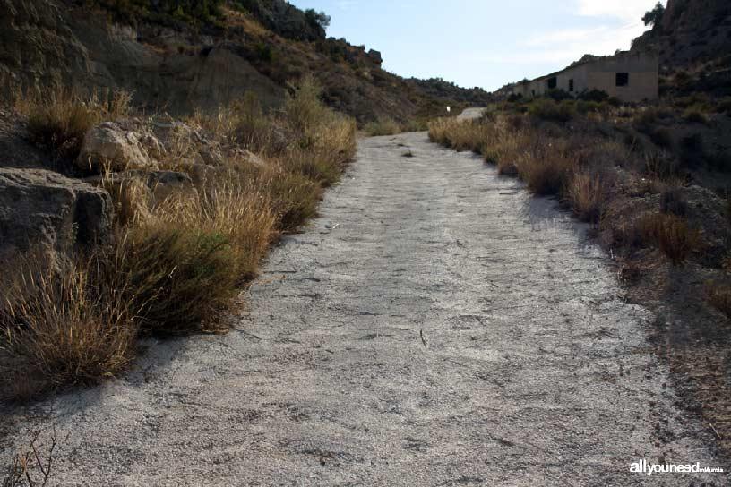 Cabezo del Tío Pío, poblado íbero. Inicio sendero