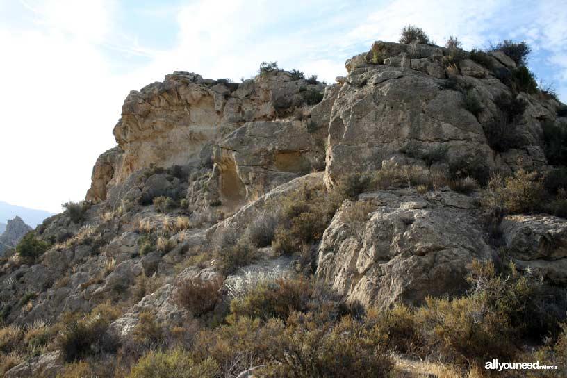 Cabezo del Tío Pío, poblado íbero. El Cabezo