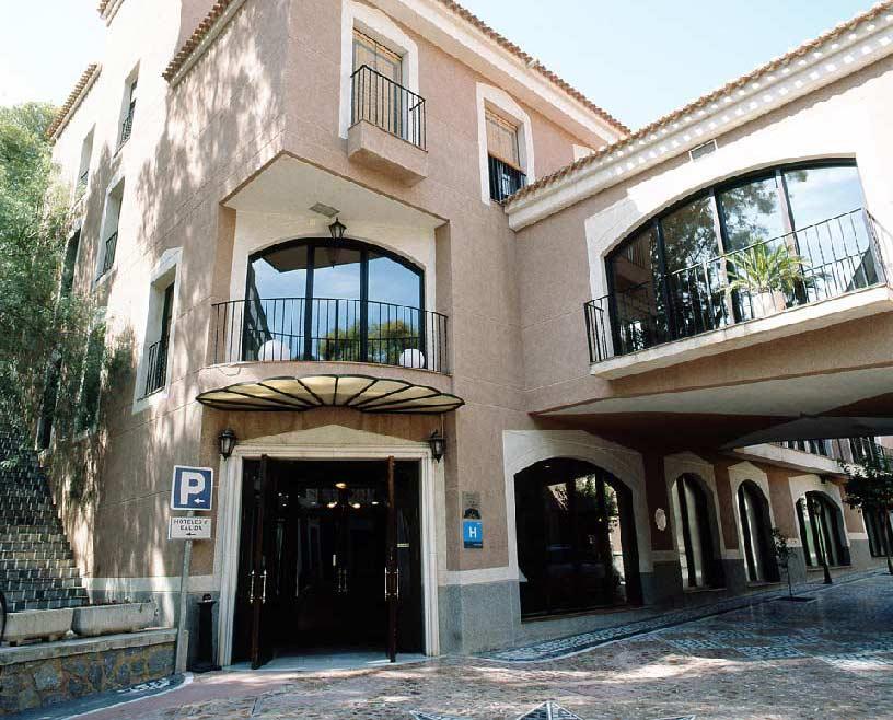 Hotel León en el Balneario de Archena