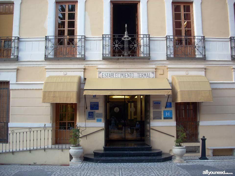 Hotel Termas en el Balneario de Archena