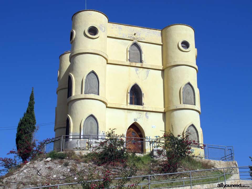 Guía de Castillos medievales en Murcia. Castillo de Don Mario en Archena