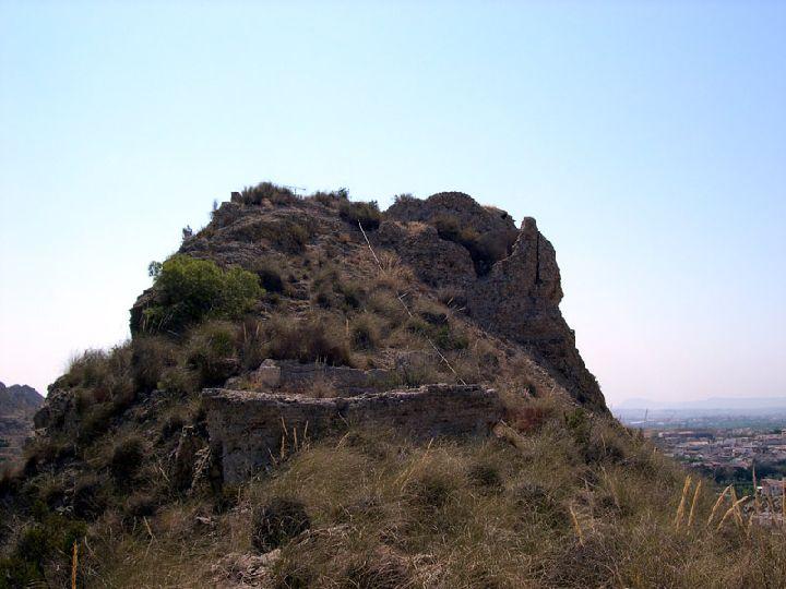 Guía de Castillos medievales en Murcia. Castillo de Archena
