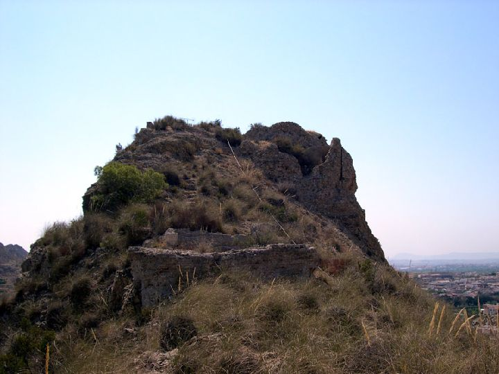 Guide of Castles in Murcia. Archena Castle. Spain