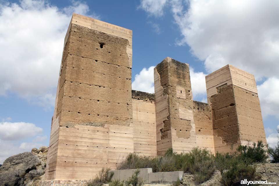 Guide of Castles in Murcia. Blanca Castle. Spain