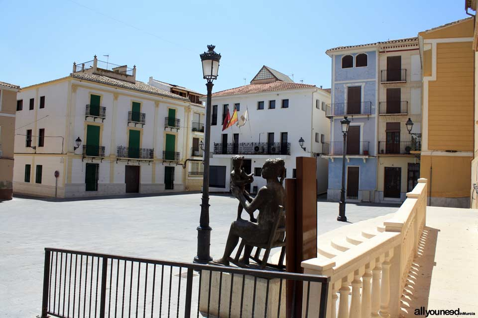 Plaza 18 de Julio in Blanca