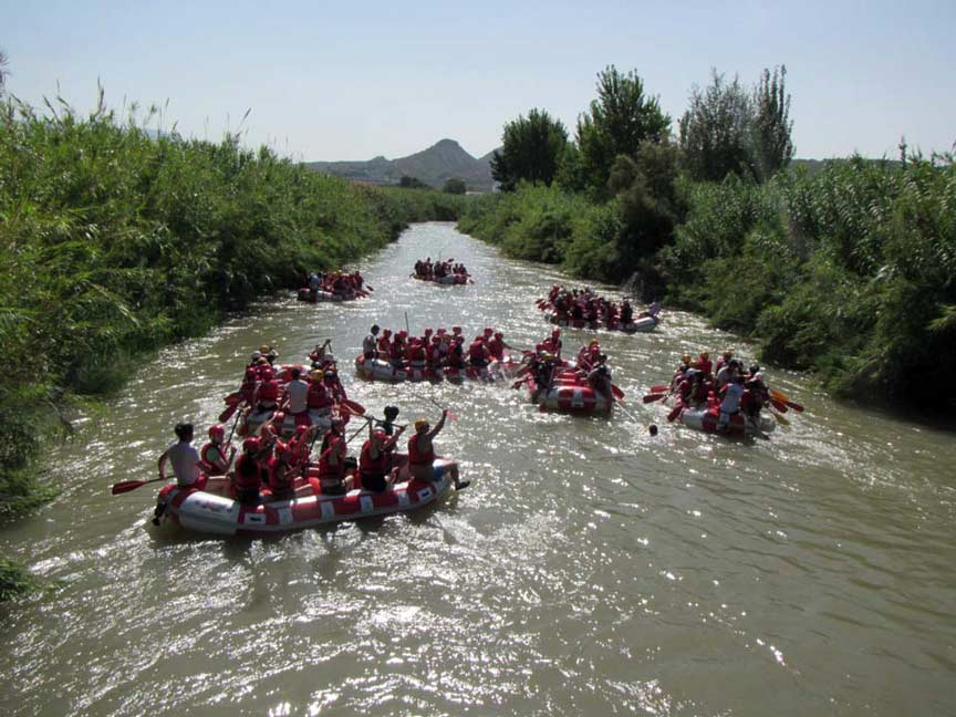 Rafting por el Río Segura con MurciAventuraS