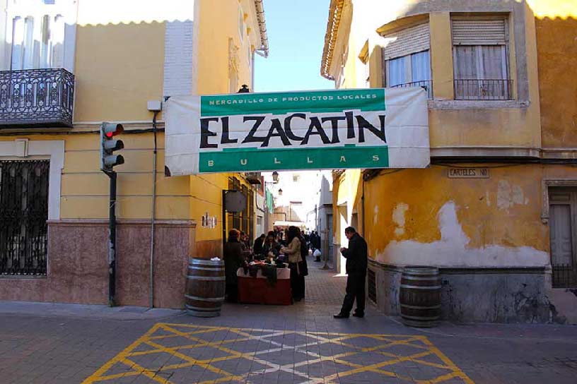 Street Market  El Zacatín in Bullas
