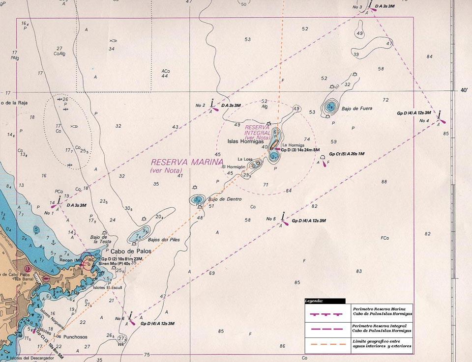 Marine reserve of Cabo de Palos and Islas Hormigas