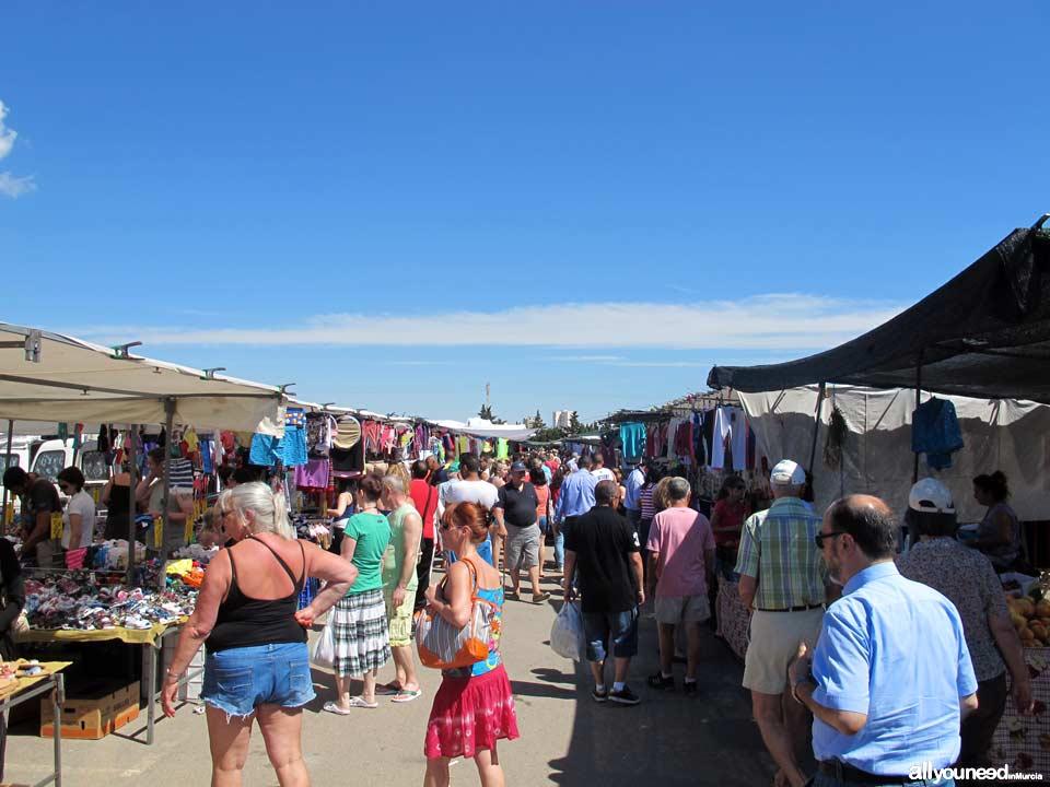Mercado semanal en Cabo de Palos