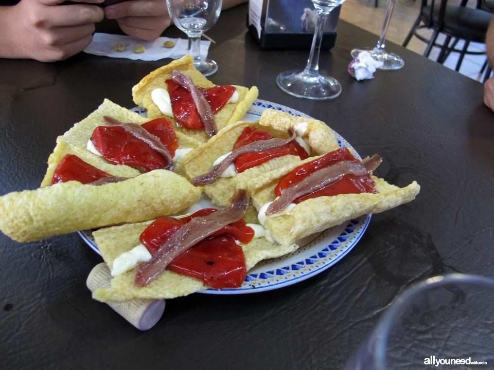 Restaurante Bar Cantero en Calasparra