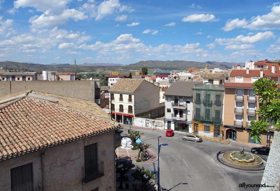 Plaza y Fuente del arrocero in Calasparra