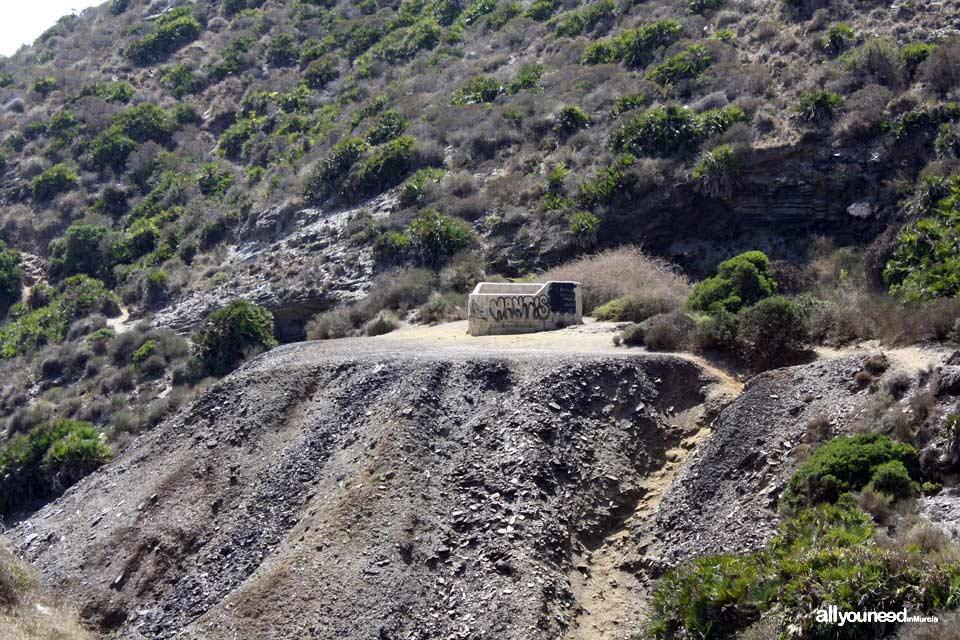 4- Sendero Cala Reona-Déntoles. Pozos Mineros. Calblanque