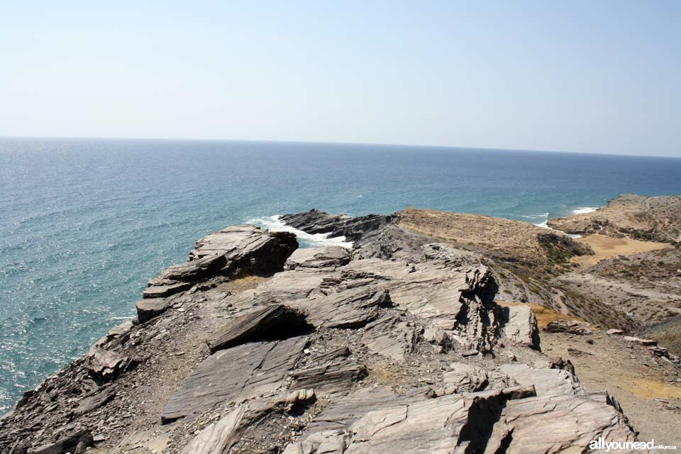 9- Sendero Cala Reona-Déntoles. Punta Espada y Cala de los Déntoles. Calblanque