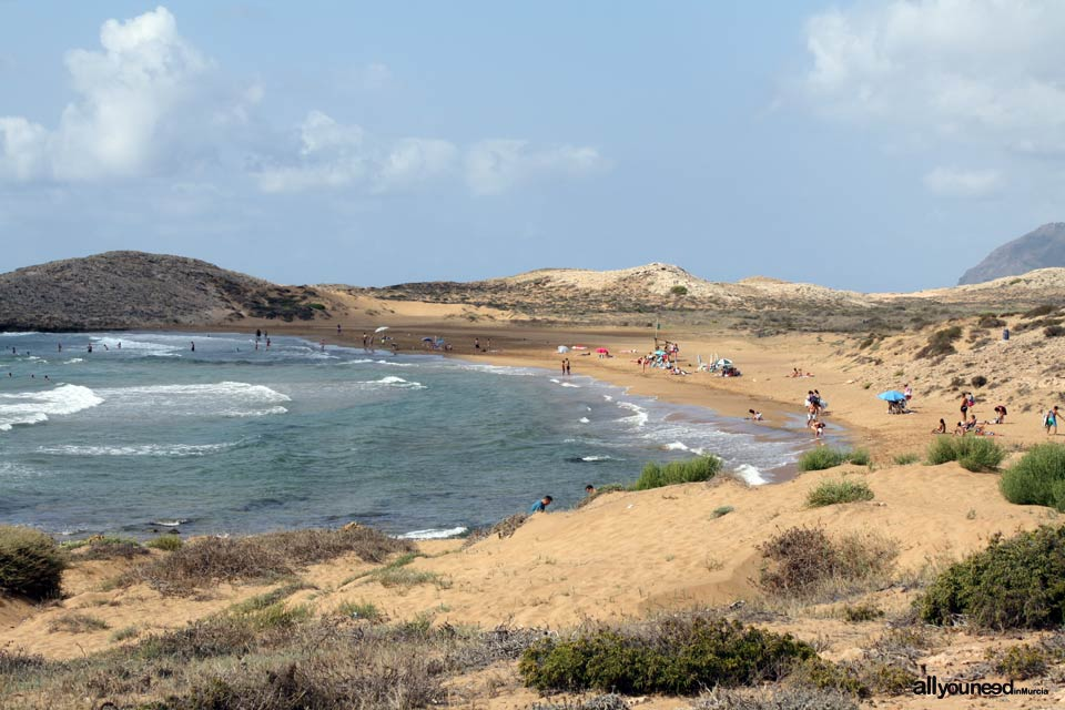Tourism in Murcia, a hang-up free region. Calblanque beach