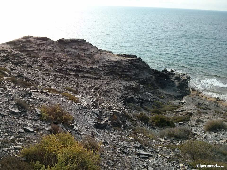 Negra Headland in Calblanque