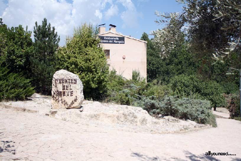 Restaurante Fuentes del Marqués en Caravaca de la Cruz