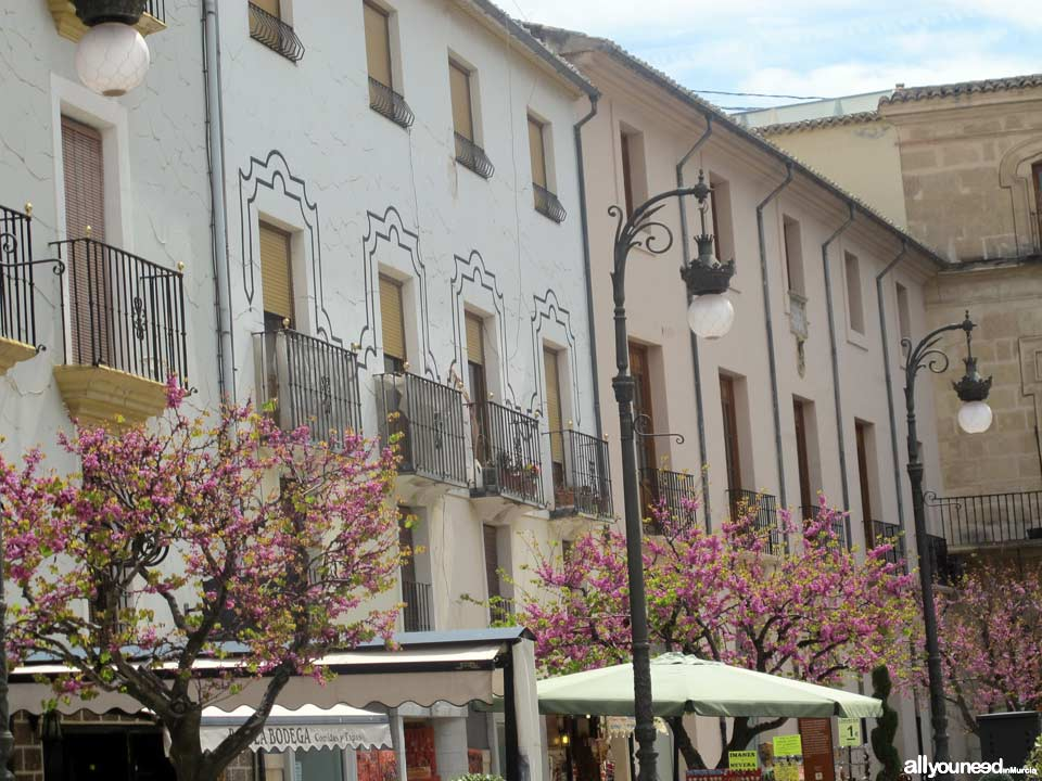 Streets and Squares of Caravaca de la Cruz. City Hall Square