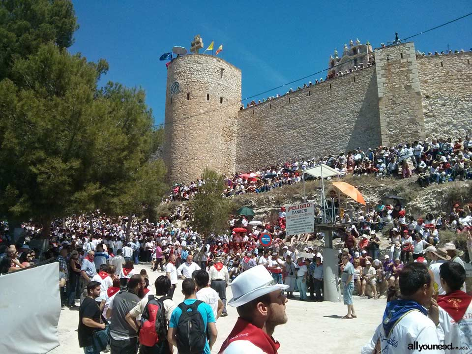 Guide of Castles in Murcia. Caravaca de la Cruz Castle. Spain