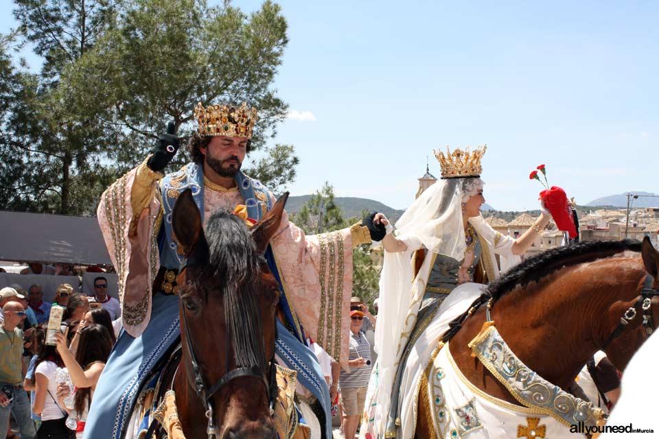 Festivities of Santísima y Vera Cruz. Moros y Cristianos. Caballos del Vino. Caravaca