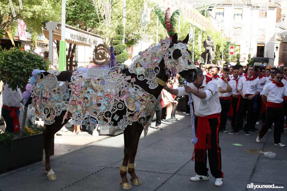 Fiestas de la Santísima y Vera Cruz. Moros y Cristianos. Caballos del Vino. Caravaca