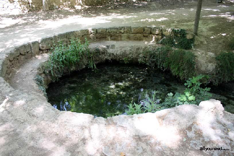 Marquis Fountain in Caravaca de la Cruz